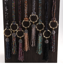Load image into Gallery viewer, Tika Beaded Long Necklaces