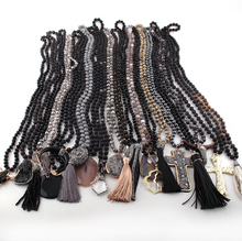 Load image into Gallery viewer, Black Statement Piece Necklaces PRE ORDER