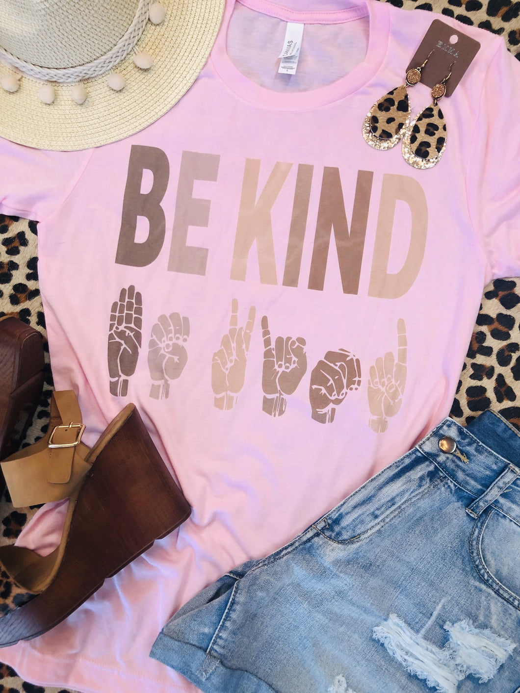 Be Kind Sign Tee