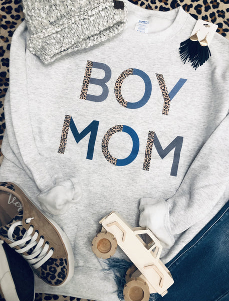 Boy Mom Sweatshirts