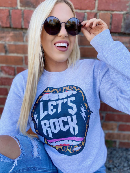 Let's Rock Sweatshirt