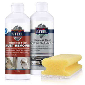 Rust Remover and Protectant Kits w/ Free Gloves and Sponge