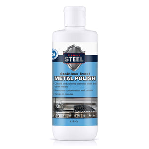 stainless steel polish front 8.5 oz