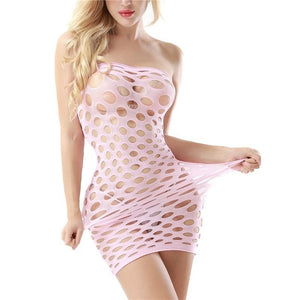 Erotic Lingerie Fishnet Underwear Cotton-Spandex