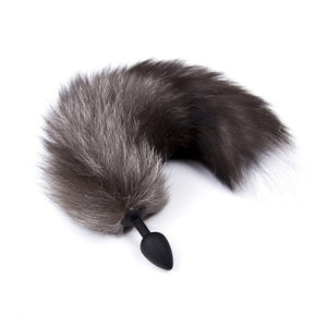 Silicone anal plug Fox Tail