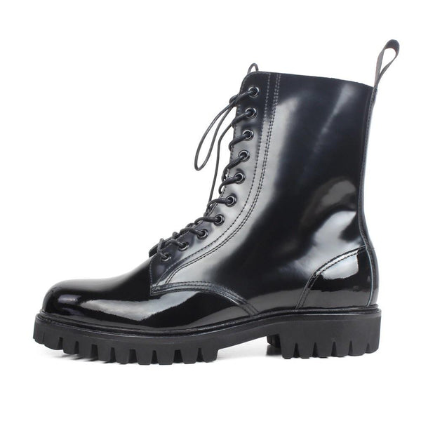 Jet Black Boot | KASA