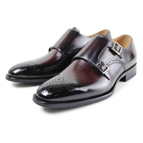 Ombre Brogue Buckle Shoe - KASA