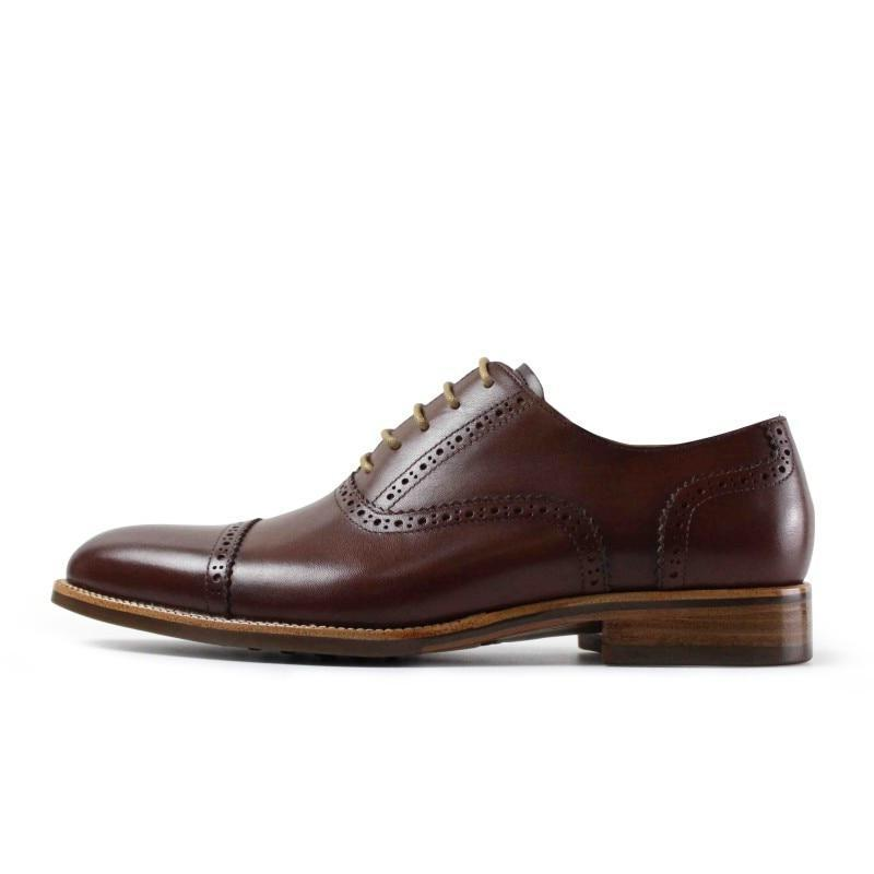 Embroidered Brogue Oxford | KASA