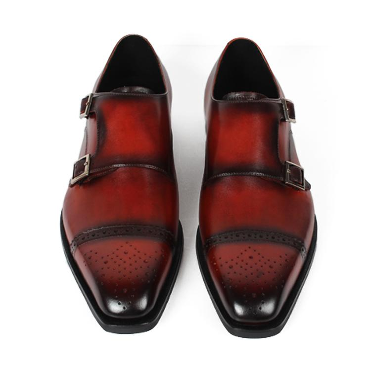 Embroidered Prestige Buckle Shoe | KASA