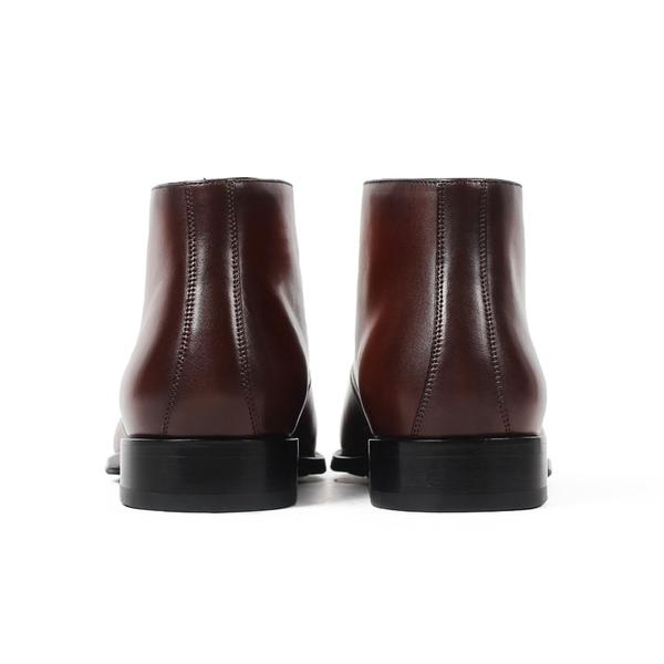 Fur Derby Boot | KASA