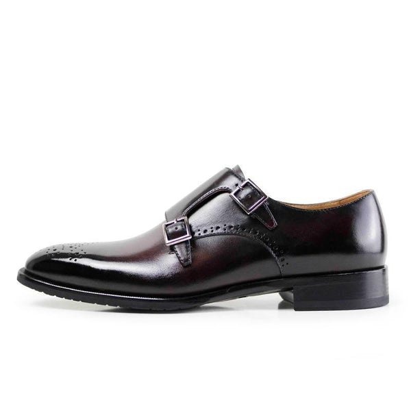 Ombre Brogue Buckle Shoe | KASA