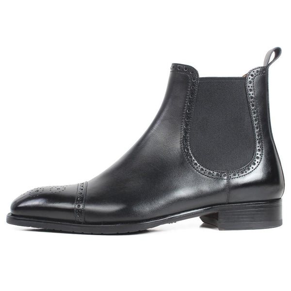 Chelsea Brogue Boot - KASA