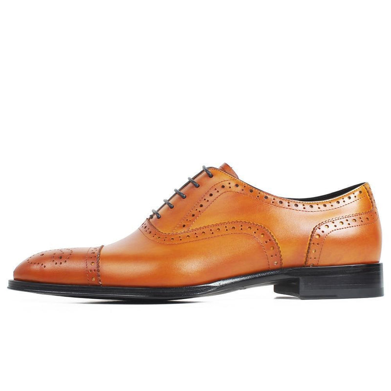 Embroidered Brogue Oxford - KASA