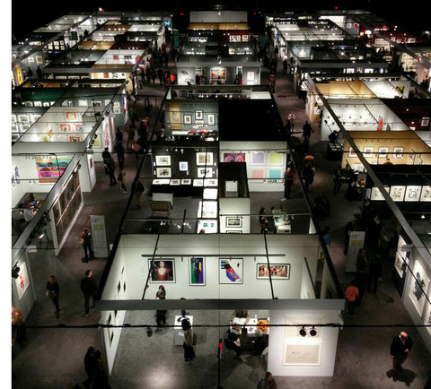 New York Print Fair - IFPDA - Seventh Regiment Armory - Park Avenue Armory