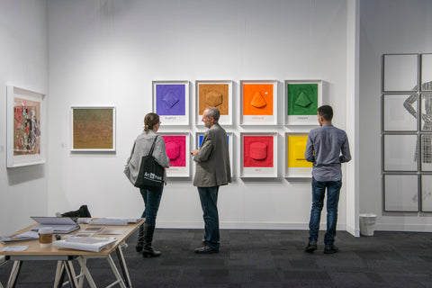 New York Print Fair - IFPDA Print Fair - booth with contemporary prints