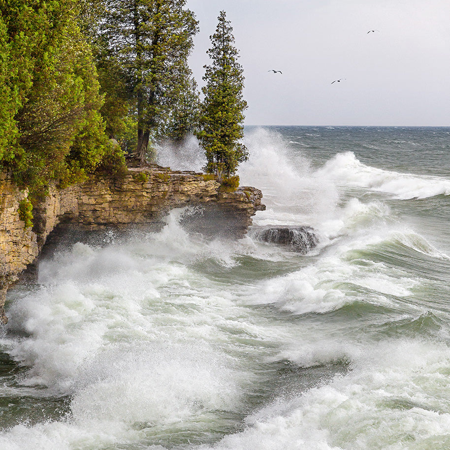 Heavy Waves, Cave Point