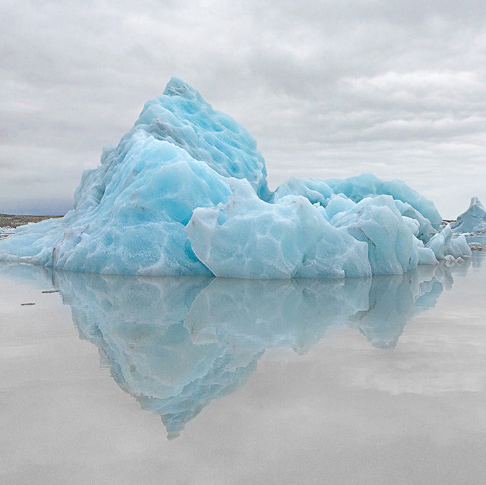 Color photograph - by ANDERSON, Daniel - titled: Iceberg Floating on Air