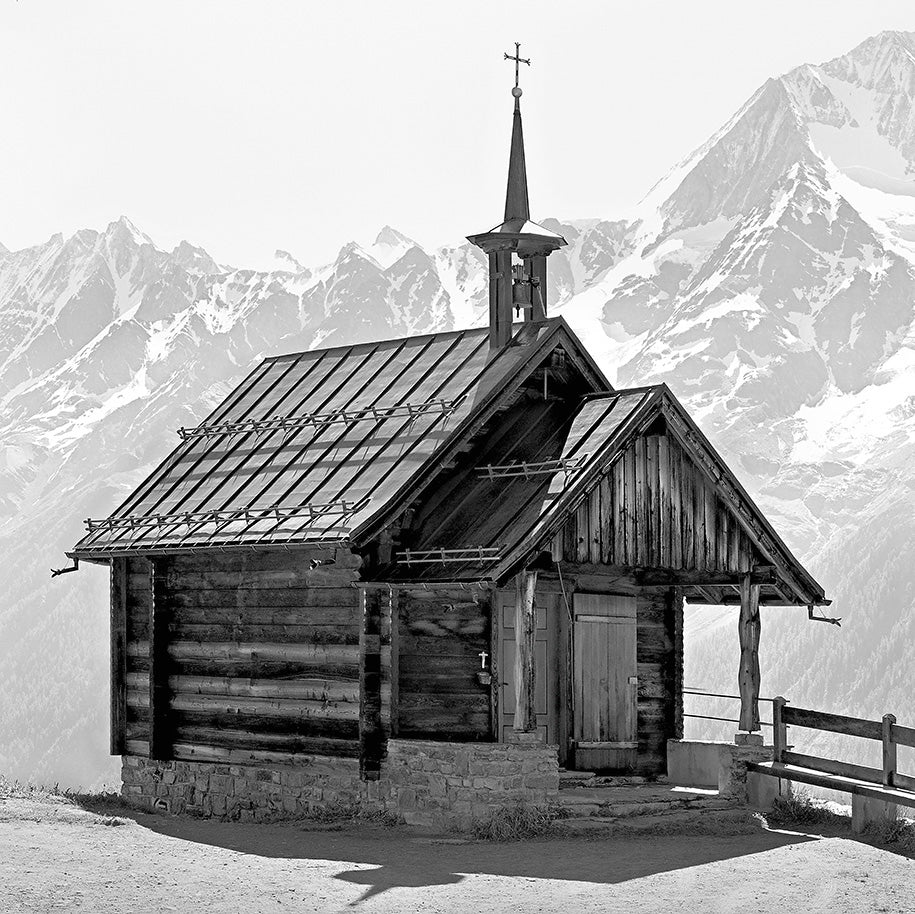 Church, Loetschental Valley