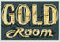 Dave Lefner - Gold Room - Color linocut reduction - neon sign - Los Angeles