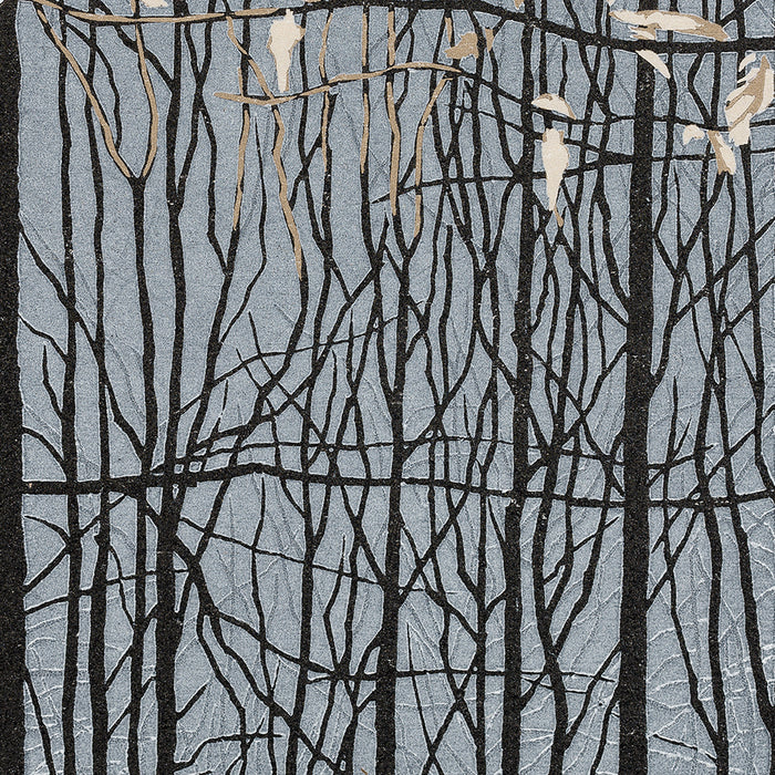Grietje Postma - 2015-IV - color woodcut reduction