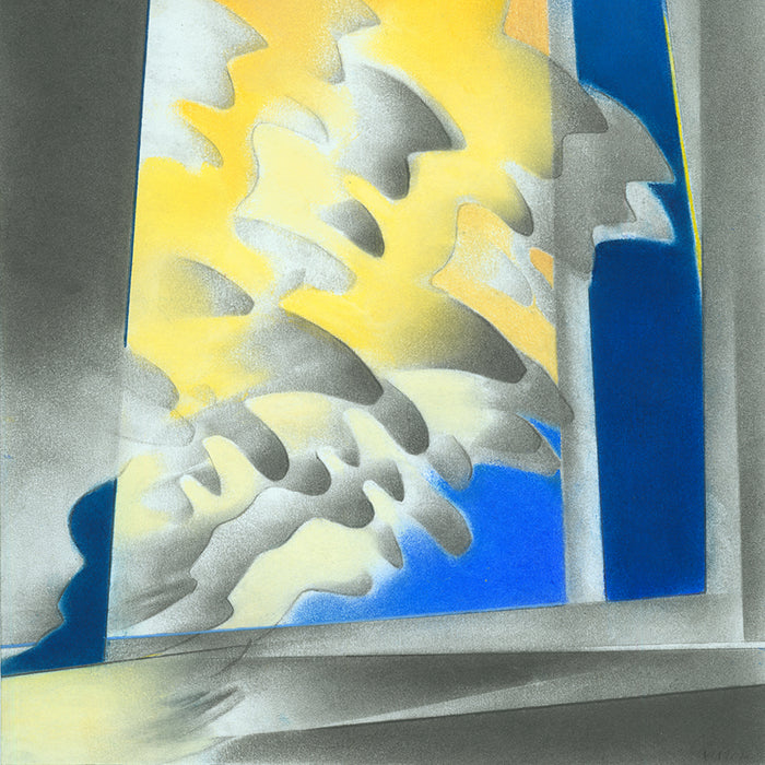 Color drawing - by HENDRICKSON, Kate - titled: Cloud Gate