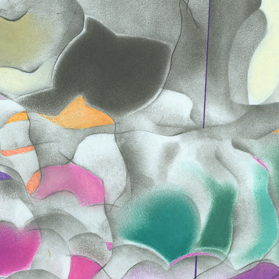 Colored Pencil Abstract Art