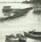 Livio Ceschin - Lungo il Po - Along the Po River - row boats - etching drypoint - detail1