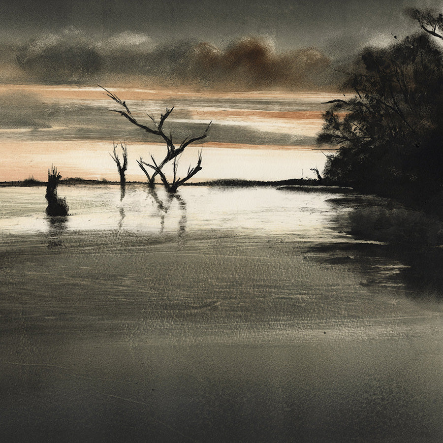 Marketa Kemp - Lake Mulwala - detail