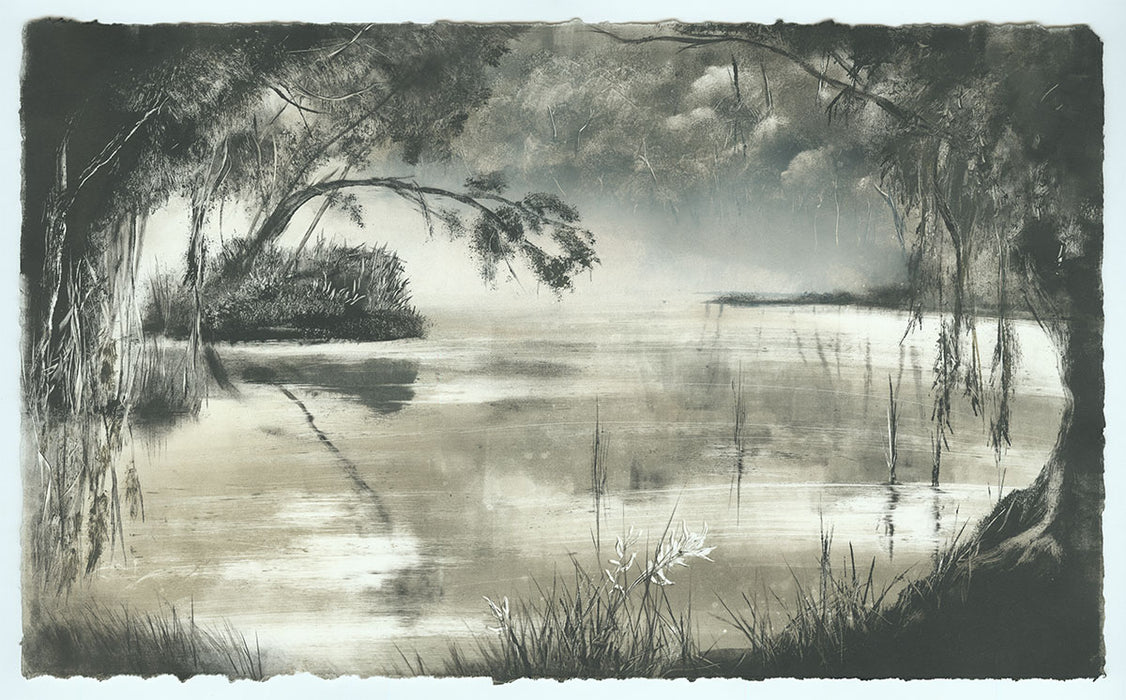 Marketa Kemp - Somwhere up the Yarra - 2019 - Yarra Yarra River - Victoria - Marshy foggy