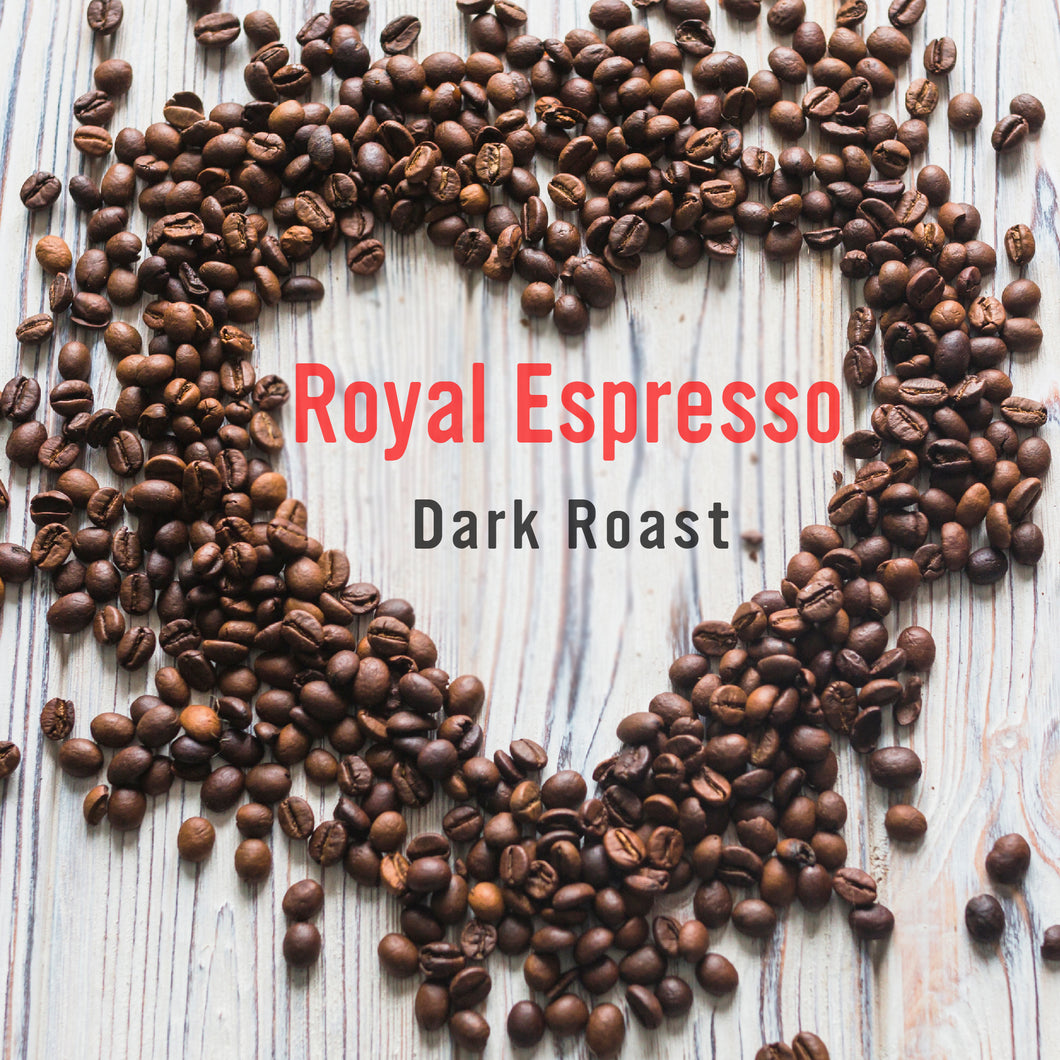 Royal Coffee Roasters, Edenvale, Johannesburg - Royal Espresso Dark Roast Coffee Beans