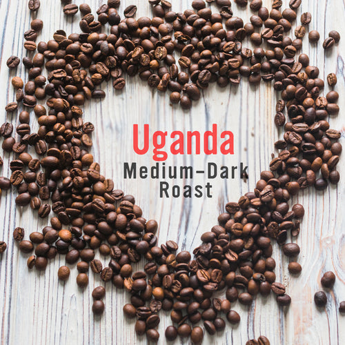 Royal Coffee Roasters, Edenvale, Johannesburg - Uganda Medium Dark Roast Coffee Beans