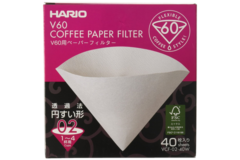 Royal Coffee Roasters, Edenvale, Johannesburg - Hario Dripper 02 Filter Paper