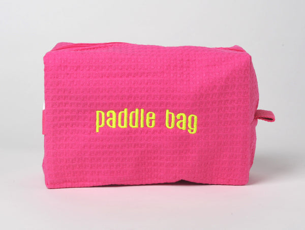 "$10 Cosmetic Bag ""paddle bag""- Special of the Month- July 2019"