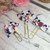 Disney Inspired Mickey Mouse Planner Clip