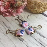 Pink & Blue Floral Pen Loops for Travelers Notebook/Planner -, Planner Accessories, TN Accessories