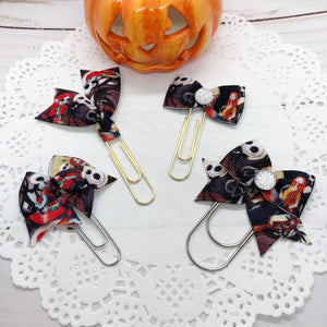 Jack & Sally Planner Clips or Charms