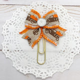 Pumpkin Truck Planner Clips or Charms
