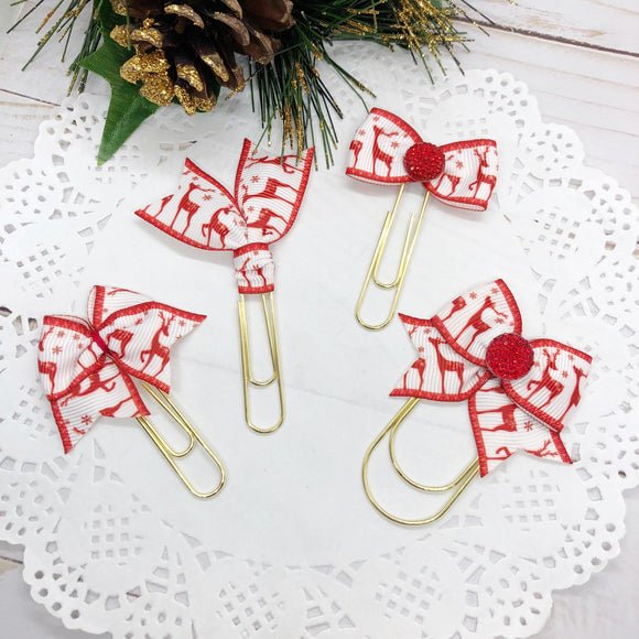 Reindeer! Planner Clips or Charms