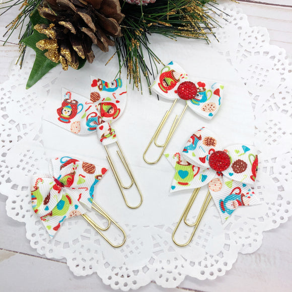 Christmas Cocoa Planner Clips or Charms