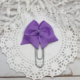 Lavender Planner Clips or Charms