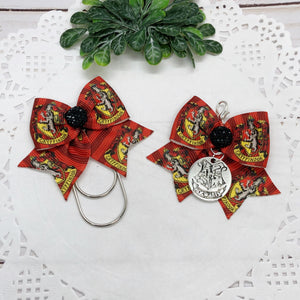 Harry Potter Inspired Gryffindor Planner Charm or Clip