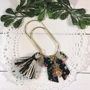 Floral Dangle Clip