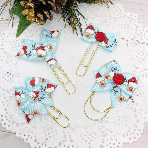 Oh Deer! Blue Planner Clips or Charms