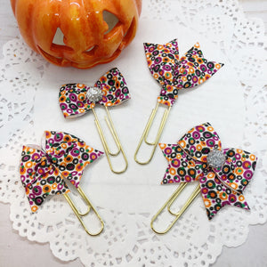 Halloween / Fall Colors II Planner Clips or Charms