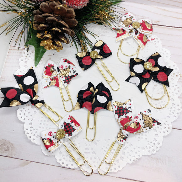 Sleigh All Day Planner Clips or Charms