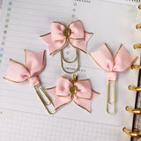 Light Pink Planner Clips or Charms
