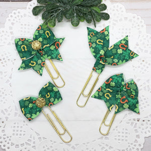 Luck of the Irish Planner Clips or Charms