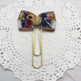 Sunflowers in Watering Cans Planner Clips or Charms