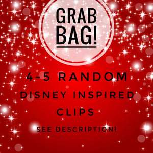 Grab Bag Disney Inspired Planner Clips