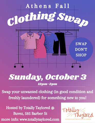 Athens Fall Clothing Swap
